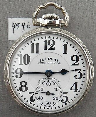 Illinois Bunn Special, 23J, 60 Hour, Marked Dial, Original Case