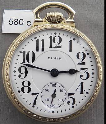 Elgin Father Time 21 Jewel Railroad Pocket Watch