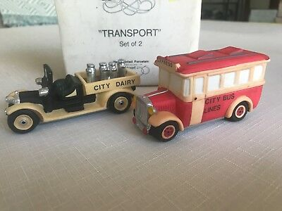 Dept 56 Heritage Village Collection, Transport Set of 2 With Box 5983-8