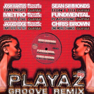 "Various - Playaz Groove Remix Vol. 06 Vinyl 12"" 0714939"