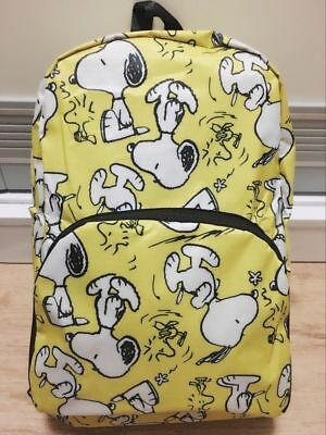 Snoopy Peanuts Travel Big Foldable Waterproof Backpack Bag