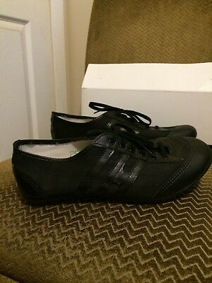 Instep Women's Baton Twirling Dance Shoes HD3 Black Size 8A 9.5 inches