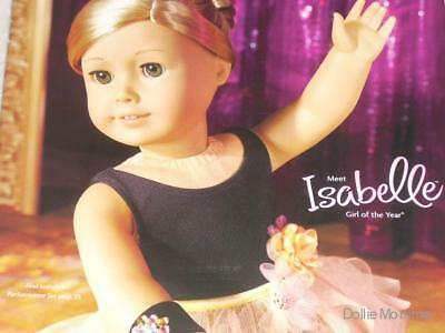 American Girl Catalog Magazine Reference Isabelle 2014 May~Caroline~Special Edit