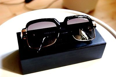 1c8cbf0956f Cazal Legends 670 3 001 Col1 Black Gold Frame Gray Lenses Sunglasses Vintage