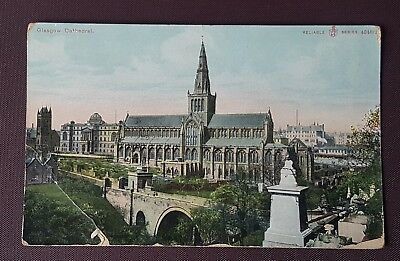 1908 Postcard Glasgow Cathedral Reliable Series
