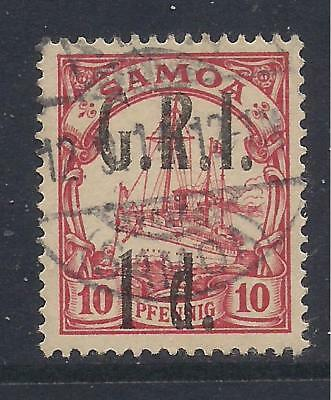 SAMOA  1914 surch  1d on 10pf carmine  SG103  FU