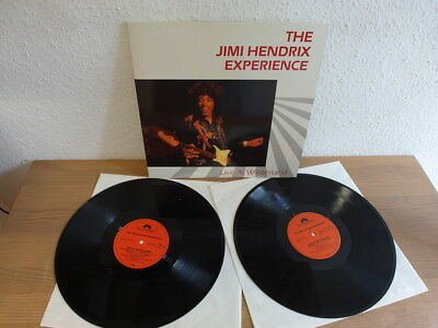 The Jimi Hendrix Experience Live at Winterland DLP rare German Polydor 1987