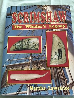 Scrimshaw- The Whaler's Legacy, by Martha Lawrence: Fabulous Maritime Reference!
