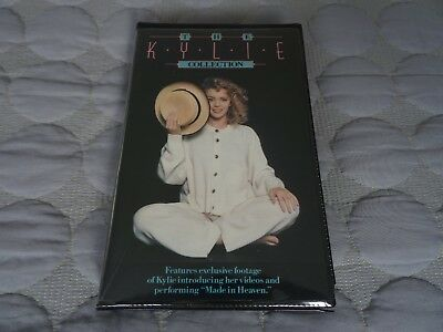 Kylie Minogue Australian Mega Rare The Kylie Collection Vhs Video Made In Heaven