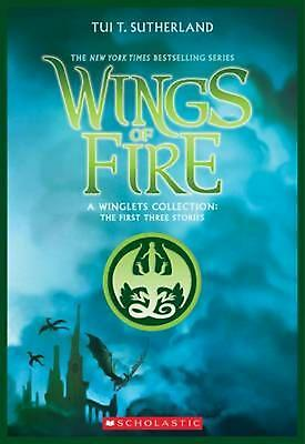 Wings of Fire: A Winglets Collection by Tui T. Sutherland Paperback Book Free Sh
