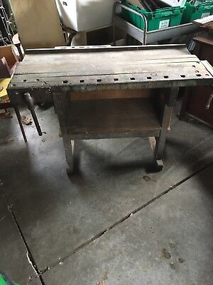 Antique Workbench Vintage