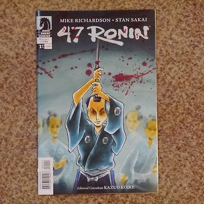 US-Comic 47 RONIN #1 Dark Horse Mike Richardson Stan Sakai (Usagi Yojimbo) 2012