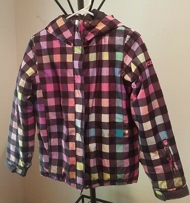 Girls Roxy Snowboarding/Skiing Coat Jacket Multicolored, Imported from UK, sz 10