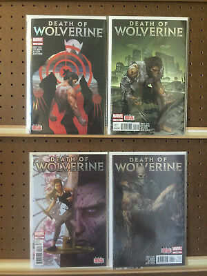 Death Of Wolverine 1 2 3 4 Complete Series Marvel Comics 2014 NM/MT