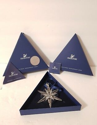 Swarovski 2005 Christmas Ornament with box