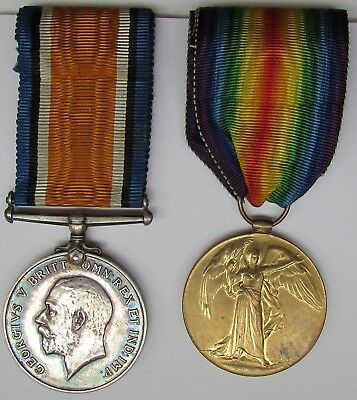 Ww1 Pair To The Hereford Regiment
