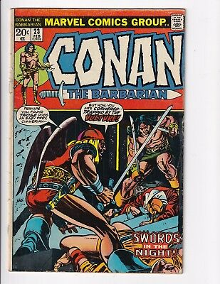 Conan the Barbarian #23 1st Appearance Red Sonja   VG 4.0