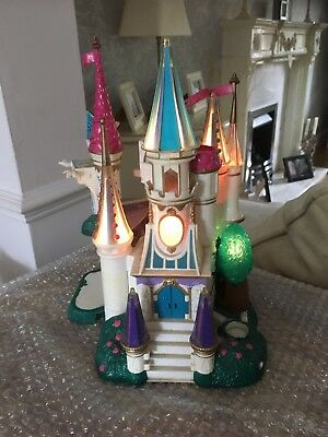 Polly Pocket Beauty & The Beadt Light Up Castle