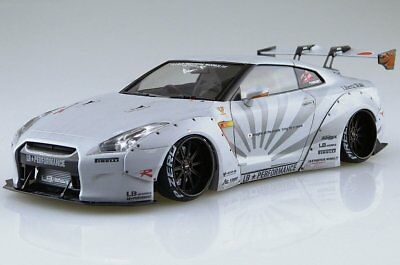 Aoshima 54031 Liberty Walk Series #10 LB WORKS Nissan R35 GT-R ver 2 Model Kit
