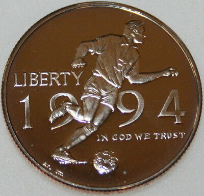 * 1994-P Commemorative Half Dollar World Cup Soccer Proof COIN ONLY