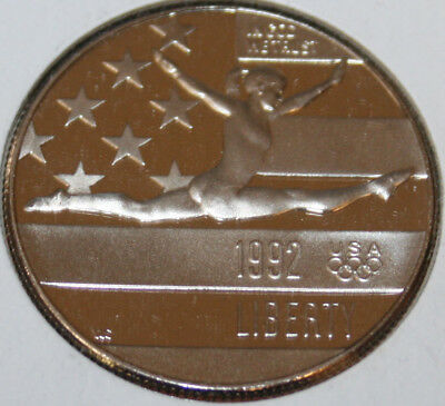 * 1992-S Commemorative Half Dollar Gymnist Proof COIN ONLY