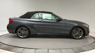BMW 2 Series 230i 230i 2 Series New 2 dr Convertible Automatic Gasoline 2.0L 4 Cyl Mineral Gray Me
