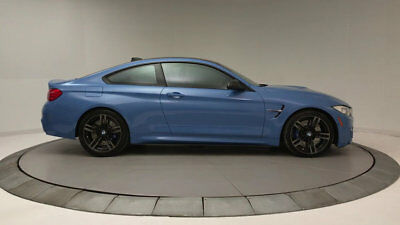 BMW M4 2dr Coupe 2dr Coupe Automatic Gasoline 3.0L STRAIGHT 6 Cyl Yas Marina Blue Metallic