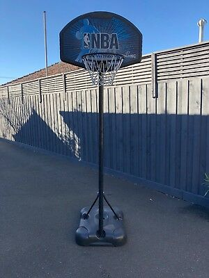 Spalding youth basketball system - basketball ring, backboard and stand