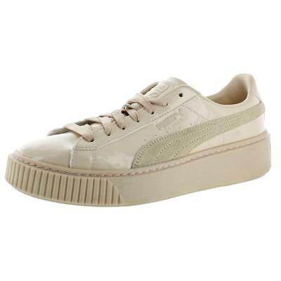 Puma Womens Basket Platform Low-Top Casual Fashion Sneakers Shoes BHFO 1525 dafa0e5ae