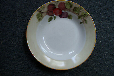 """Vintage Gibson Everyday Fruit Pattern 8"""" Soup Cereal Bowl"""