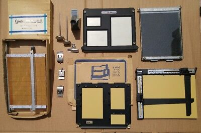 VINTAGE DARKROOM EQUIPMENT LOT / BUNDLE Bogen Spiratone Premier Paterson Technal