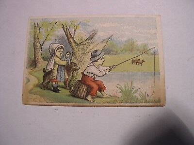 Victorian Trade Card Scott's Emporium NY Boots, Ties, and Slippers 1880 Calendar