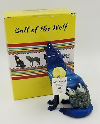"Westland Call of the Wolf ""Three Wolves"" 2011 #14192. New w ORIGINAL TAGS & BOX"