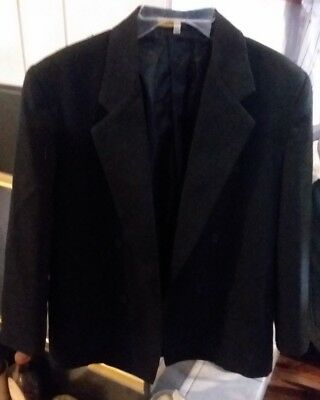 Arrow Youth Tuxedo Jacket 14R Handsome Black Double Breasted Costume Wedding
