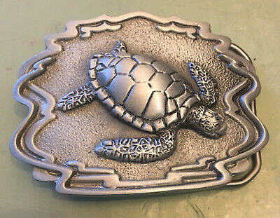 """Sea Turtle Belt Buckle New Approximately 2 3/4"""" X 2 1/8"""""""