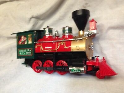 Steam Locomotive North Pole Express G Scale  -- Running Well -Forward & Reverse