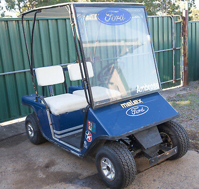 Melex Poland 212 Golf Cart For Parts Or Repair, Needs Batteries/Charger ETC