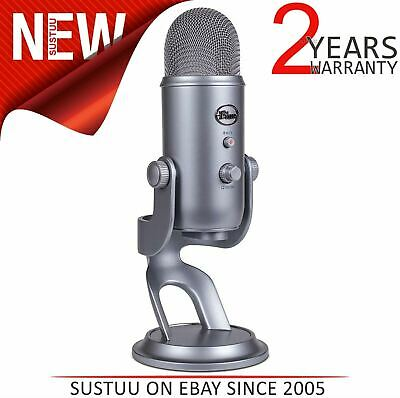 Blue Microphones Yeti Professional USB Mic│4 settings│Omnidirectional│Space Grey