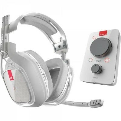 Astro A40 Headset + MixAmp Pro TR White Gaming Headset Xbox One & PC