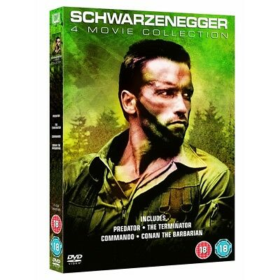 Arnold Schwarzenegger 4 Movie Collection DVD