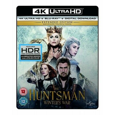 Snow White And The Huntsman (Extended Edition) 4K UHD + Blu-ray + Digital Dow...