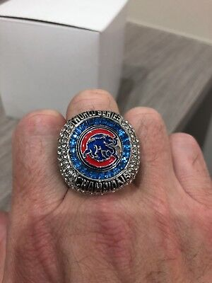Chicago Cubs World Champions 2016 MLB Ring Size 13 Zobrist