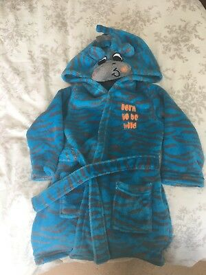 Boys Dressing Gown Aged 18-23 Months Matalan
