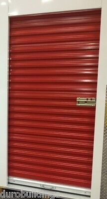 DuroSTEEL JANUS 4'x8' Self Storage 650 Series Metal Roll-up Door & Hdwe DiRECT