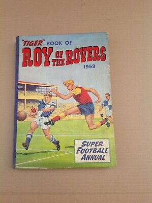 roy of the rovers annual 1959