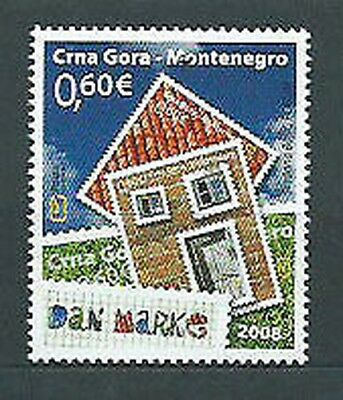 Montenegro - Mail Yvert 188 Mnh Day of the Stamp