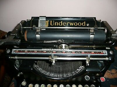typewriter underwood original retro antique