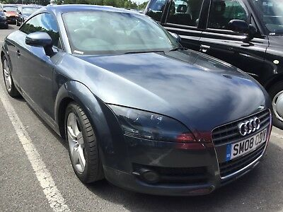 08 Audi Tt 2.0 T-Fsi 200Bhp *grey, Alloys, Leather, Air Conditioning, Only 75K!*