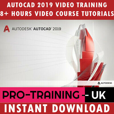 Autodesk AutoCAD 2019 – Professional Video Training Tutorial - Instant Download