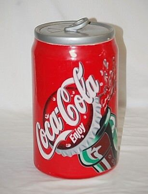 Coca Cola Brand by Gibson Designs Cookie Jar & Lid Red Coca Cola Giftware 2001